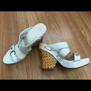 Christian Dior White Shoes Sandals